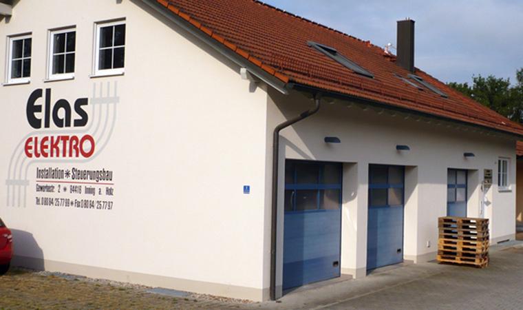 Firmengebäude Elektro Elas nahe Landshut